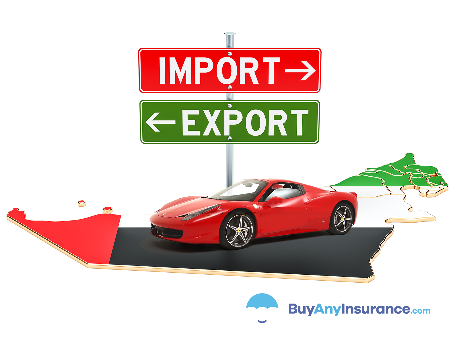 importing cars in Emirates
