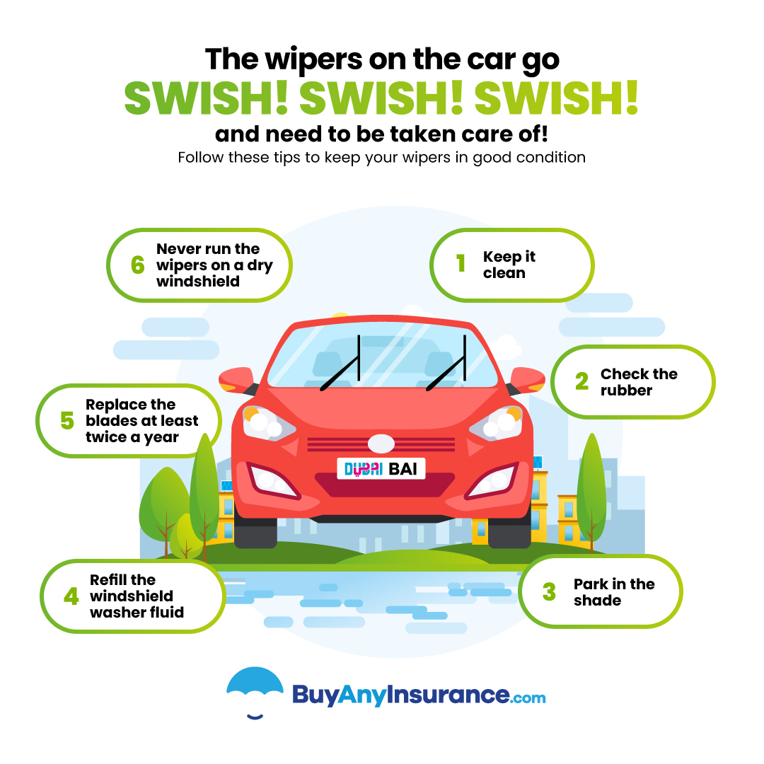 how to care for your windscreen wipers